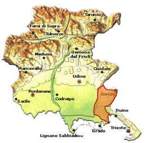 Friuli Isonzo DOC area