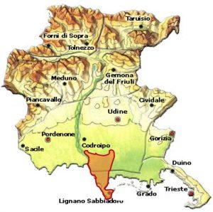 Friuli Latisana DOC area
