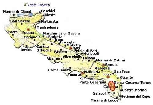 Galatina DOC area
