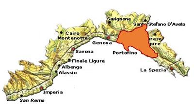 Golfo di Tigullo Portofino DOC o Portofino DOC area