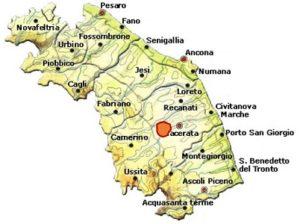I Terreni di San Severino DOC area