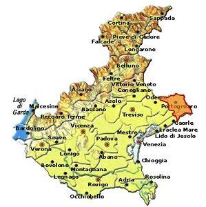 Lison DOCG area Veneto