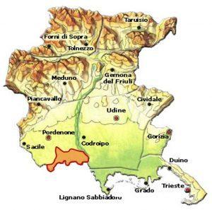 Lison Pramaggiore DOC area Friuli
