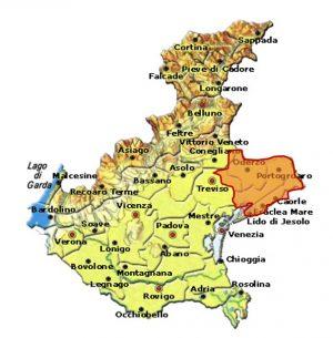 Malanotte del Piave DOCG area