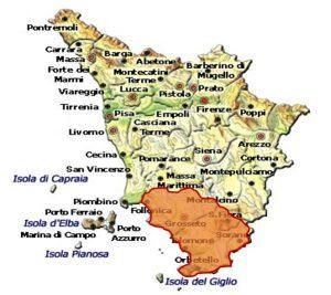 Maremma Toscana DOC area