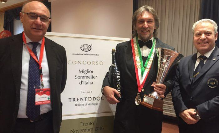 Maurizio Filippi Miglior sommelier d'Italia 2016