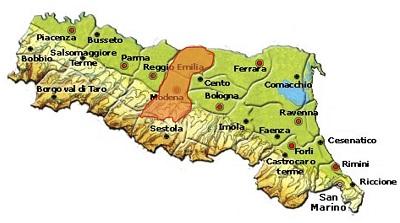 Modena DOC area