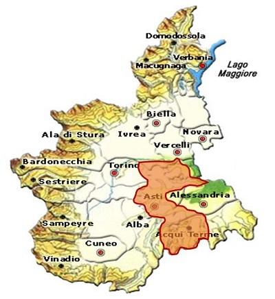 Monferrato DOC area