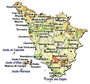Montecucco Sangiovese DOCG area