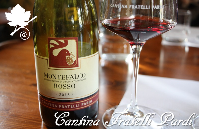 Montefalco Rosso DOC 2015 - Cantina Fratelli pardi