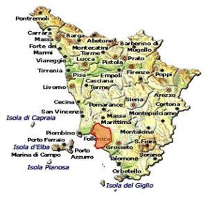 Monteregio di Massa Marittima DOC area