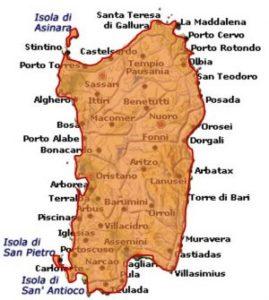 Moscato di Sardegna DOC area