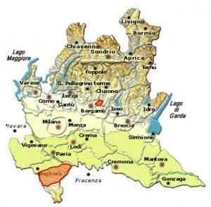 Oltrepò Pavese DOC area