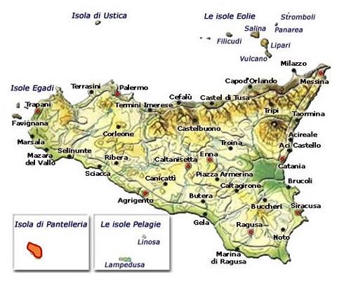 Pantelleria DOC area