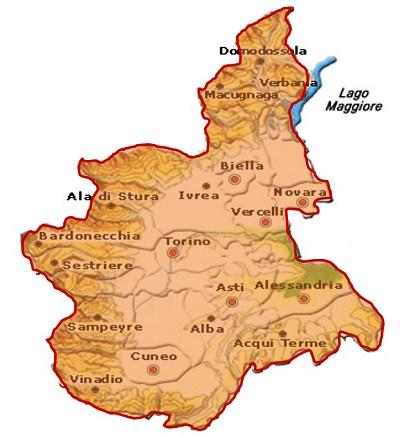 Piemonte DOC area