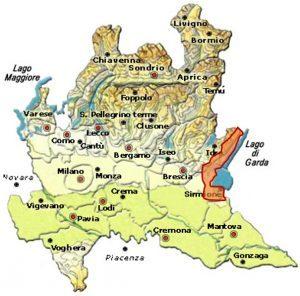 Riviera del Garda Bresciano DOC area