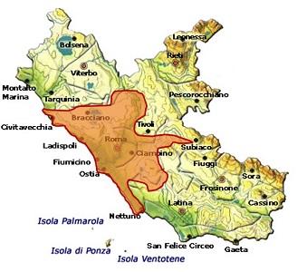 Roma DOC area