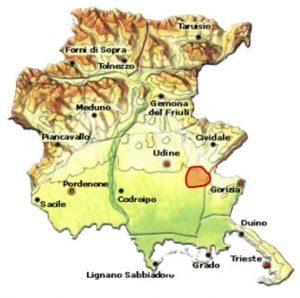 Rosazzo DOCG area