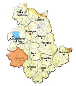 Rosso Orvietano DOC area
