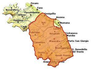 Rosso Piceno DOC area