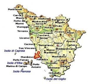 Rosso della Val di Cornia DOCG area