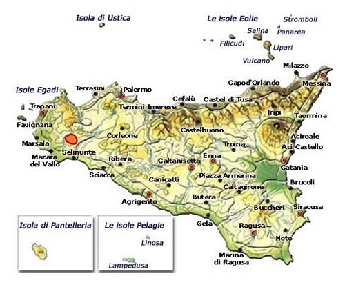 Salaparuta DOC area