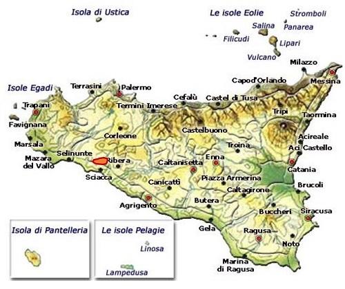 Sambuca di Sicilia DOC area