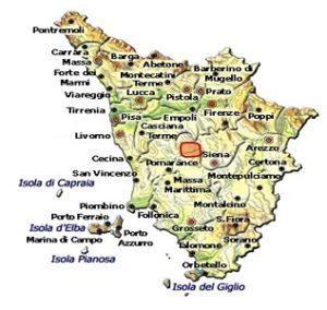 San Gimignano DOC area