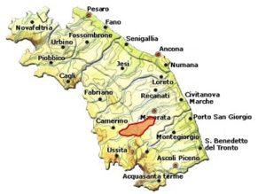 San Ginesio DOC area