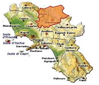 Sannio DOC area