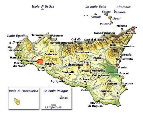 Santa Margherita di Belice DOC area