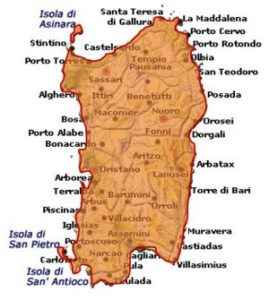 Sardegna Semidano DOC area