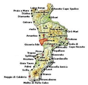 Savuto DOC area