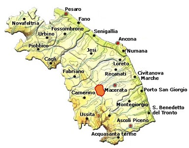 Serrapetrona DOC area
