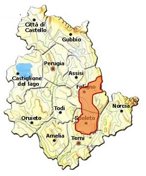 Spoleto DOC area
