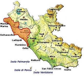 Tarquinia DOC area