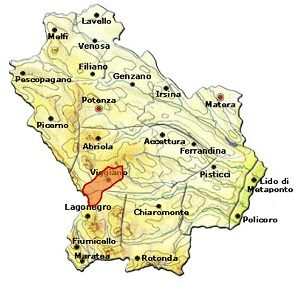 Terra dell'Alta Val d'Agri area
