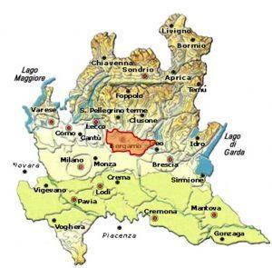 Terre dei Colleoni DOC area