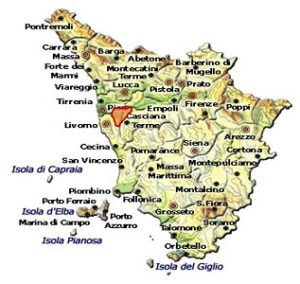 Terre di Pisa DOC area