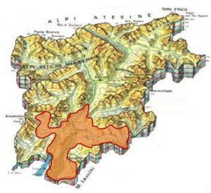 Trento DOC area
