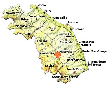 Vernaccia di Serrapetrona DOCG area