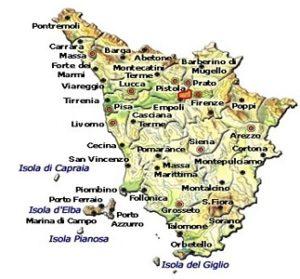 Vin Santo del Carmignano DOC area