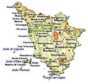 Vin Santo del Chianti Classico DOC area