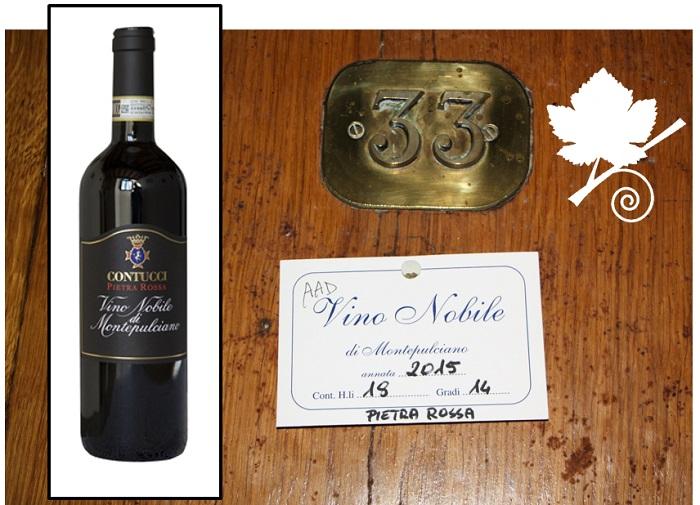 Vino Nobile di Montepulciano DOCG – Pietra Rossa Cantine Contucci