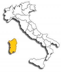 cannonau - area di diffusione del vitigno