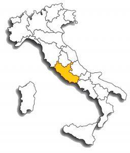 cesanese - area di diffusione del vitigno