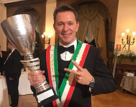 roberto anesi miglior sommelier d Italia 2017 2