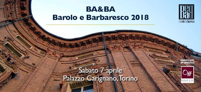 Ba&Ba Barolo e Barbaresco 2018 locandina