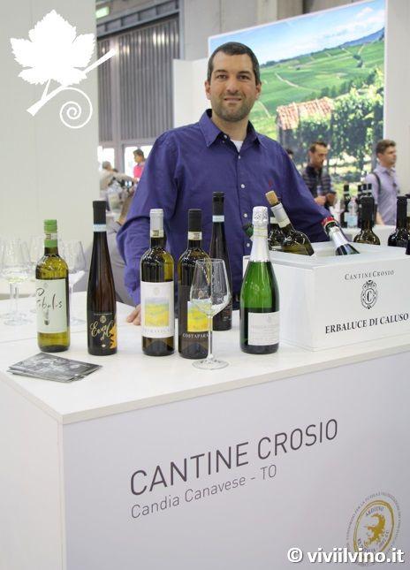 Roberto Crosio a Vinitaly 2018 - Cantine Crosio