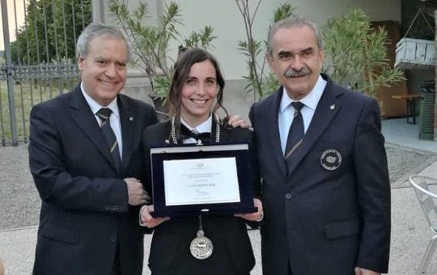 Sara Lazzeri - miglior sommelier della Lombardia 2018